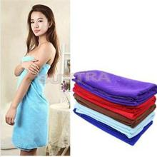 HOT! Women Bath Towel 5 Colors Microfiber Fabric Beach Towel Rose Red Soft Wrap Skirt Towels Super Absorbent Home Textile(China)
