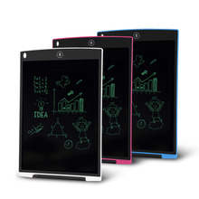 Digital Portable 12 Inch Mini LCD Writing ScreenTablet Drawing Board for Adults Kids Children(China)