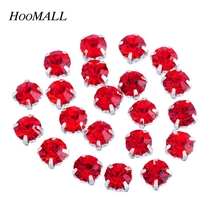 Hoomall 50PCs Good Quality Loose Rhinestones SS20/SS16 Crystal Clear Flatback Rhinestones Claw Rhinestones For Jewelry DIY