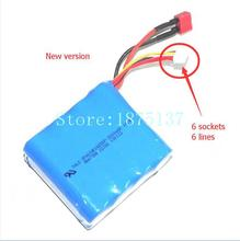 Free shipping QS8008 parts Battery GT Model RC Helicopter QS 8008 QS-8008 spare parts Li-po battery(China)