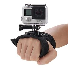 Glove Wrist Band 360 Degree Rotation Hand Strap Belt for GoPro Hero 5/4/3+/3/SJCAM SJ4000 SJ7000 Xiaomi yi 4k/Eken H9 H9R