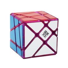 Original Moyu Crazy Fisher Cube 3x3x3 Magic Cube Speed Puzzle Cubes Toys For Children Cubo Magico Special Gifts(China)
