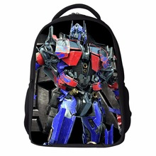 2017 Superman Children Backpack,3D Iron Man Transformers Backpack for Boys,Kids Teenagers Avengers School Backpacks Men Gifts