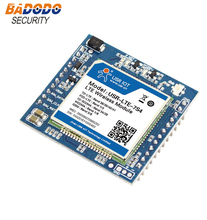 Transmit data between serial port and network server USR-LTE-7S4 Serial UART 4G LTE Module supports FTP and SIM Card Slot