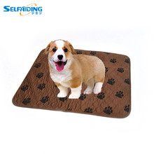 Premium Stain Resistant Quick Absorbent Waterproof Reusable / Quilted Washable Large Dog / Puppy Training Travel Pee Pads Mat(China)
