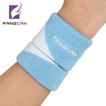 2pcs/set FANGCAN Compose Jacquard wristband One Large and One Small Tennis Terry Wristband 3 colors