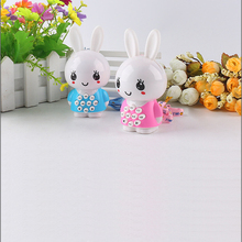 Mini Child Children Learning machine Cute Rabbit learning machine Musical Educational Toy Story machine Chinese learning machine