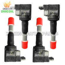 4 PCS IGNITION COIL FOR HONDA AIRWAVE FIT II JAZZ 1.3L 1.5L (2002-) 30520-PWC-003 30520-PWC-S01 30520-PWC-013 CM11-110 CM11110(China)