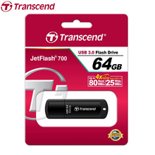 Transcend JetFlash 700 USB Flash Drive High Speed USB 3.0 Flash Pen Drive Gift USB Key Flash Memory Stick 64GB 32GB 16GB 8GB