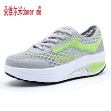 dower me Running Shoes men's Jog Air Mesh Summer Sneaker Sports Slip-on Max Size women shoes