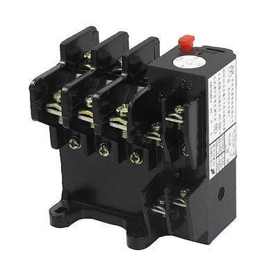 JR36-20 11Amp 6.8A-11A Adjustable 3 Pole Thermal Overload Relay 1NO 1NC<br><br>Aliexpress
