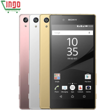 "Original Unlocked Sony Xperia Z5 Premium E6853/E6883 RAM 3GB ROM 32GB Octa Core 5.5"" IPS 23.0MP WIFI GPS 4G LTE Smart Phone"