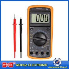 WHDZ DT9205A Professional Digital Multimeter Electric Handheld Ammeter Voltmeter Resistance Capacitance hFE Tester AC DC LCD(China)