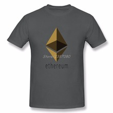 Buy Hiphop T Shirt Ethereum Mens T Shirts Fashion 2017 Printer Cotton Crewneck Big Size Short Sleeve Funny T-shirts for $12.98 in AliExpress store