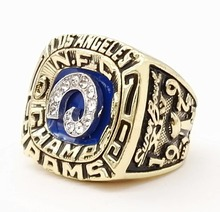 Who Can Beat Our Rings,  High Quality Super Bowl 1979  Los Angeles RAMS Championship Ring