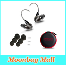 New Moxpad X6 In-ear sport Earphones with Mic for iPhone Samsung Mobile Cell Phones Replacement Cable+Noise Isolating