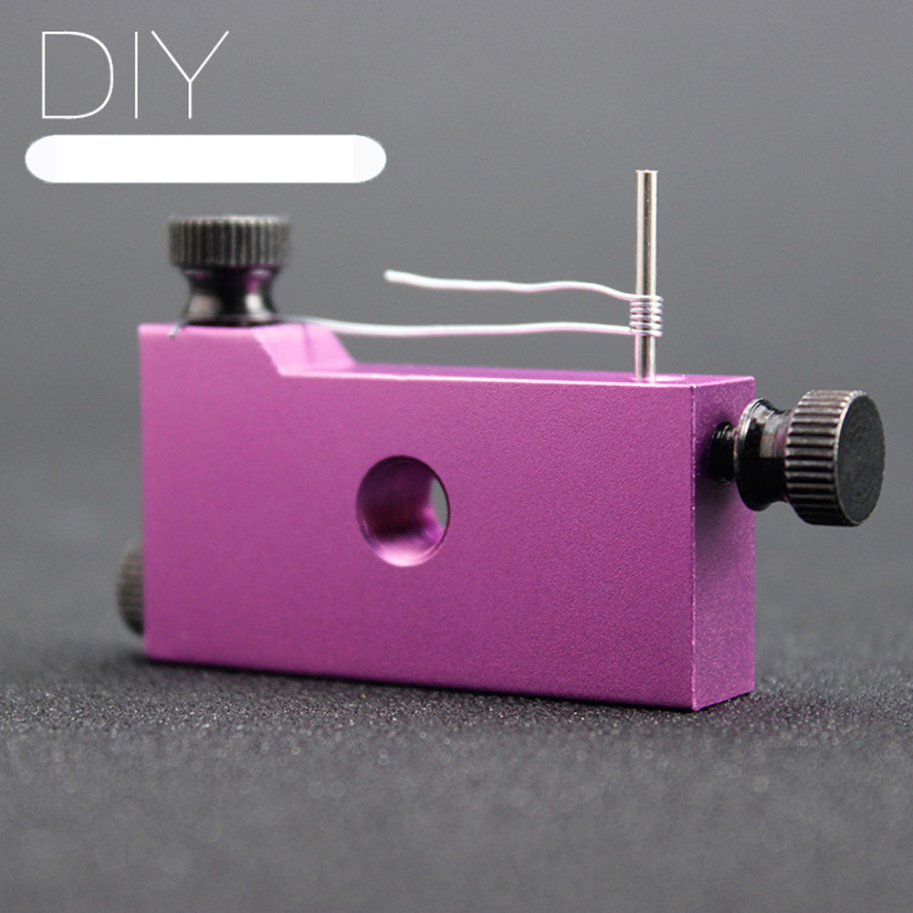Mini Coil Jig 5 Size In 1 Atomizer Coil Tool 1.0mm-3.5mm E Cigarette Tool for RBA RDA RTA Atomizer Heating Wire Wick Machine(China (Mainland))