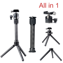 Ulanzi Pocket Mini Tabletop Tripod Camera/ Desk Stand Stable Tripod with Ball Head for DSLRs Traveler for Landscape Photographer(China)