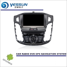 Wince / Android Car Multimedia Navigation System For Ford For Focus 2012~2014 - CD DVD GPS Player Navi Radio Stereo HD Screen(China)