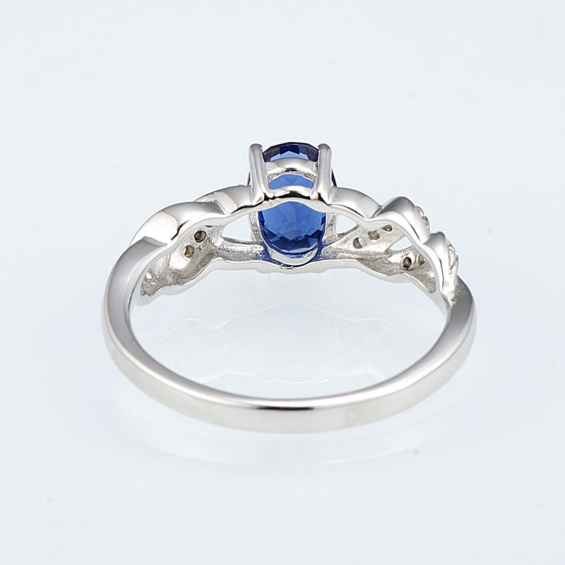 R303165BLGZSL925-SV5-Silver Ring