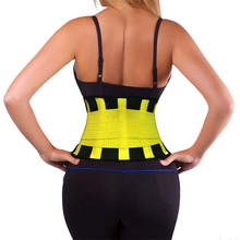 Lumbar Support Waist Trimmer Belt Weight Loss Wrap Stomach Fat Burner Low Back Effect Best Abdominal Trainer Y123