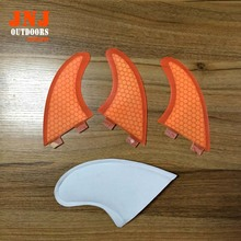 Alibaba supplier top quality Fiberglass Honeycomb Surfboard surf fcs fin G3 for surfing and paddling(China)