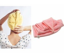 Hair-drying Ponytail Holder Cap Towel E#CH Magic Quick-Dry Hair Towel Lady N Microfiber Hair Towel