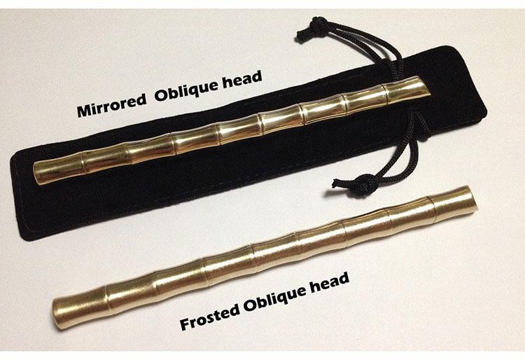 CCGK Bamboo Shape Brass Tactical Pen Useful EDC Tool Women Outdoor Portable Self Defense Tools Detachable Functional Write Pen (10)