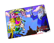 Adventure Time mouse pad gear E-sports game pad to mouse notebook computer mouse mat brand gaming mousepad gamer laptop