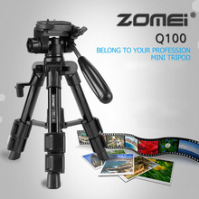 Zomei Universal Portable Mini Tripod Travel Camera Accessories Aluminum Durable Tripod for Desktop Camera HOT in stock!!!
