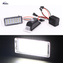 2Pcs Xenon White OEM-Replace LED License Plate Lights For Chevy Chevrolet Cruze 2009-2014 Camaro 2010-2013
