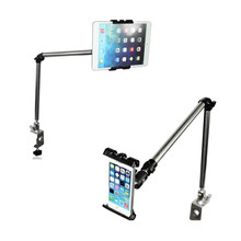 Rock 360 Degree Flexible Arm Tablet Pad Holder Stand Long Lazy People Bed Desktop Tablet Mount For Ipad Mini Ipad 234 Iphone 7(China)