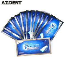 Teeth Bleaching Dental Product Oral Hygiene Ultra White 3D Advanced Teeth Whitening Strips Gel Care 14Pair Dental Tooth Whitener