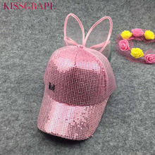 Summer kids girls Lace cap baceball caps hats with bowtie baby girls breathable sunhats snapback cap brand children's mesh cap