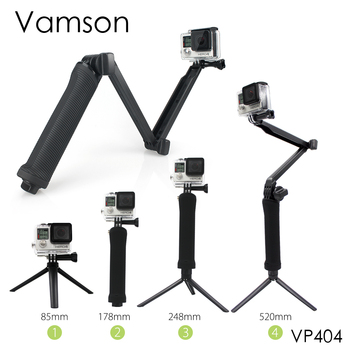 Vamson Accessories 3 Way Monopod Mount Extension Arm Tripod for Gopro Hero 6 5 4 3