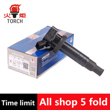 (TORCH) Ignition Coil OEM NO:90919-02239 / DQG12292-BM for Toyota Corolla Celica Chevy Prizm Pontiac Vibe Matrix MR2 Spyder 1.8L(China)