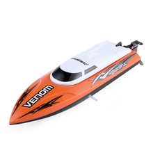 UDI 001 Mini RC Speedboat Tempo Power Venom 2.4G Remote Control Boat with Auto Rectifying Deviation Direction Function(China)