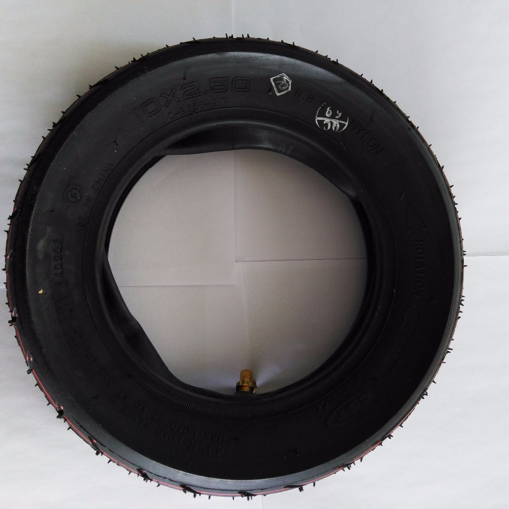 10 inch  Pneumatic Tire for Electric Scooter Dualtron and Speedway 3 with inner tube 10x2.5 inflatable Tyre<br>
