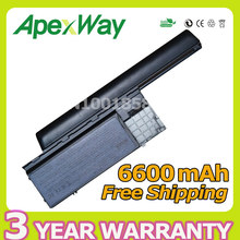Apexway 9 cells 6600mAh Battery For Dell Latitude D620 D630 D630c D631 for Precision M2300 HX345 NT379 PC764 RC126 TD116 UD088