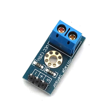 Voltage Sensor for DC Raspberry Pi Amplifier Digital Current DC0-25V with Code