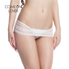 Buy Comeonlover Underwear Women Thongs Bragas Sexy Panties Women Thong Plus Size Knickers Lace Pants Ladies Briefs Panties DIY28