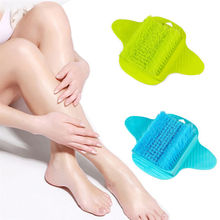 Foot Cleaner Scrub Sucker Brush Exfoliating Feet Scrubber Washer Bath Spa Shower(China)