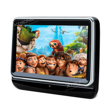 "XTRONS Monitor 10.1""HD Digital Touch Screen Car Headrest DVD Player 1024*600 support 1080P Video HDMI Port USB SD FM Transmitter(China)"