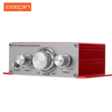 Zeepin HY-2001 Hi-Fi Mini Amplifiers Audio for Motorcycle Auto Car Home Power Amplifier Stereo Sound Mode with USB/MP3/FM/DVD/SD