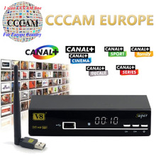 freesat v8 Super  FTA satellite receivers digital with DVB-S2  cccam satlink USB wifi Biss Key newcam  decoder