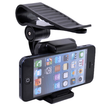 Clip Rotary Car Sun Visor Mobile Phone Holders Stands Mounts For Oneplus three,OnePlus X One E1001,Oneplus 3T,Oneplus Mini,
