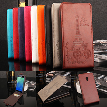 Meizu M5 Cover Fashion Colorful Flip Leather Cover Case for Meizu M5 Meilan M5 5.2 inch Vertical Back Cover for Meilan 5 M5(China)