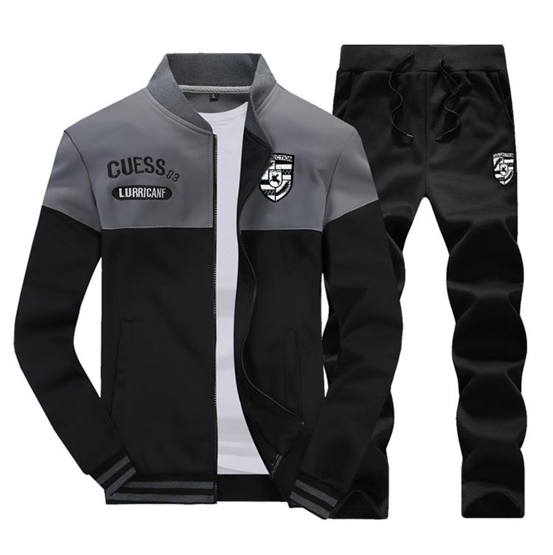 Two Piece Set Mens Tracksuit 11
