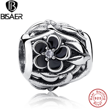 Original Accessories 925 Sterling Silver Flower Branch Charms Jewelry Making Pendant Fit Pandora Bracelet & Necklace WEUS149
