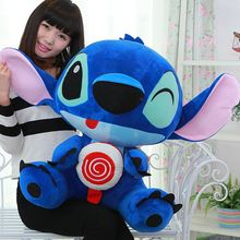 2017  65cm Giant Stuffed Soft Plush Lovely Big Funny Stitch Toy, Cute Gift For Kids